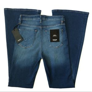 Hudson Holly high rise 5 pocket flare jeans NWT